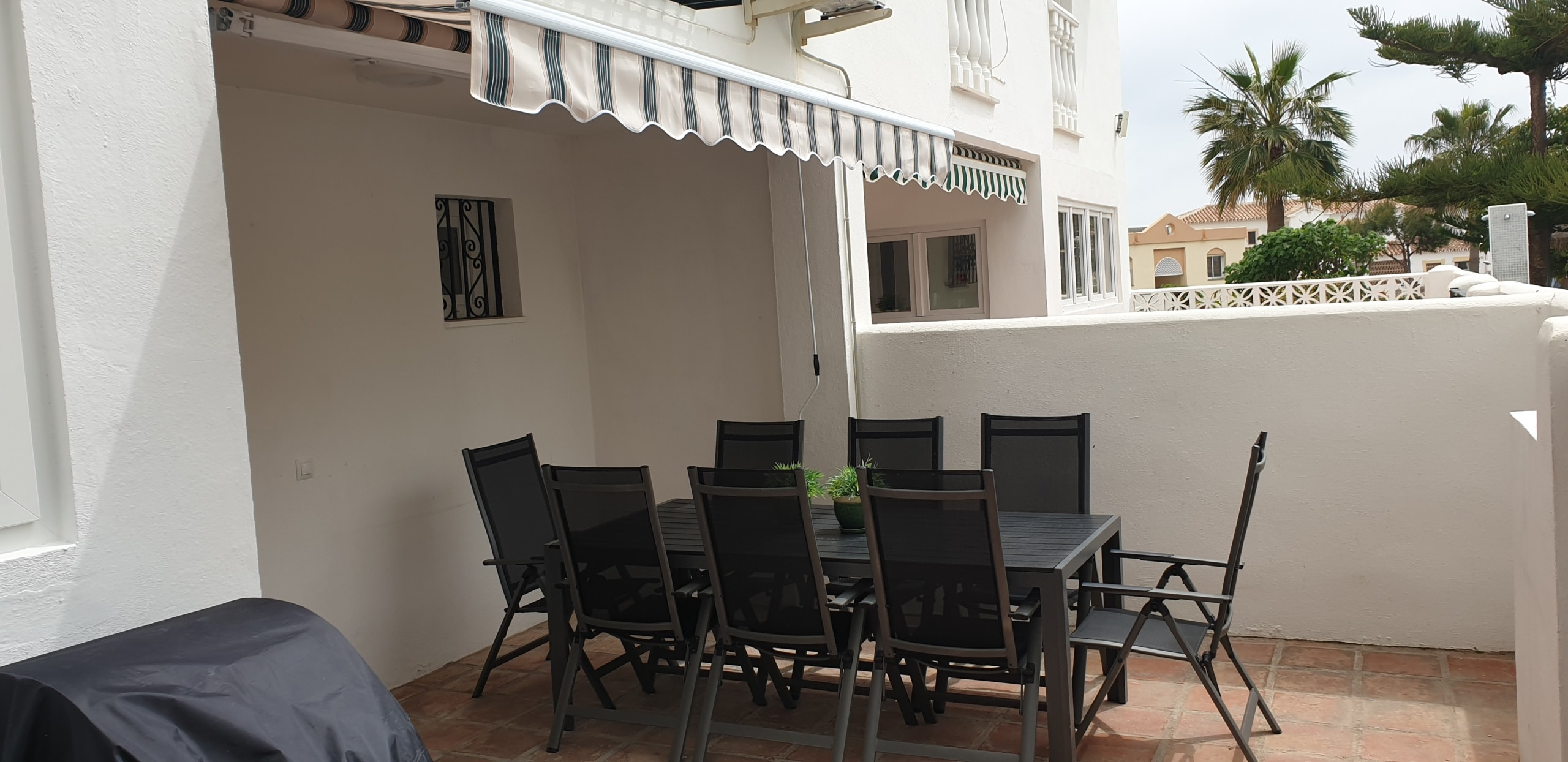 Dining area at the back