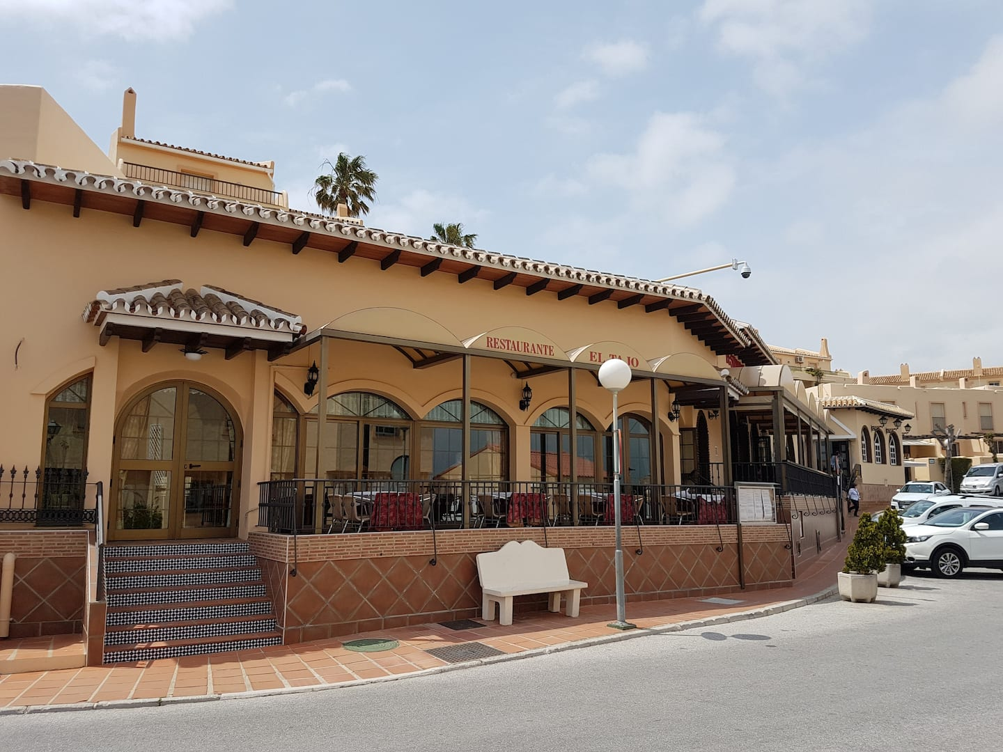 Zacharies restaurant, 70 meters from the house