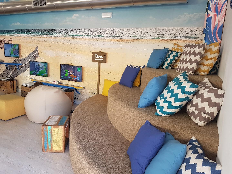 Playroom for kids at the resort